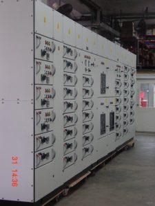 415V LV Motor Control Center for Senoko With Bus A and B For Senoko Power Station