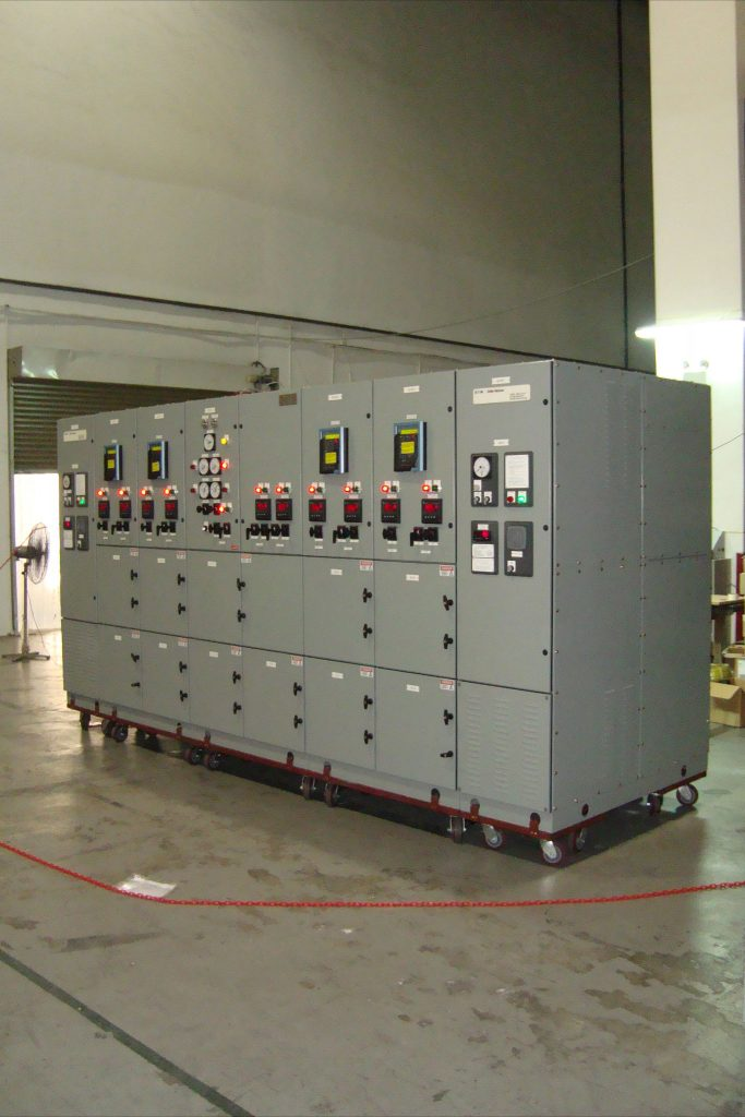 480VAC Generator Switchboard for Chevron Thailand FUCPP - Side View