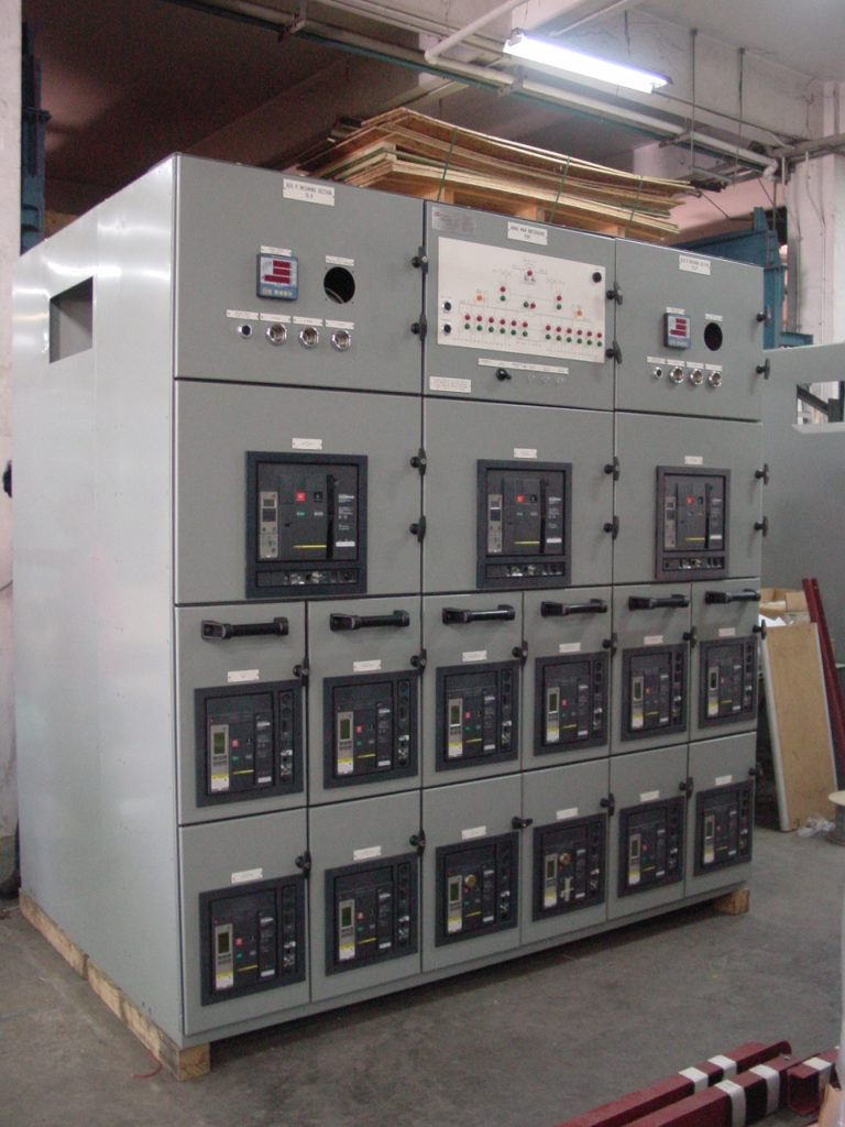 480VAC Main-Tie-Main Switchboard for Diamond Offshore - 2
