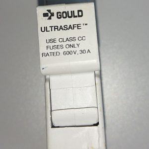 Gould Shawmut UltraSafe Fuseholder, USCC1 Class 1, 1 Pole,